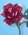 Swarovski Beaded Flower Rose